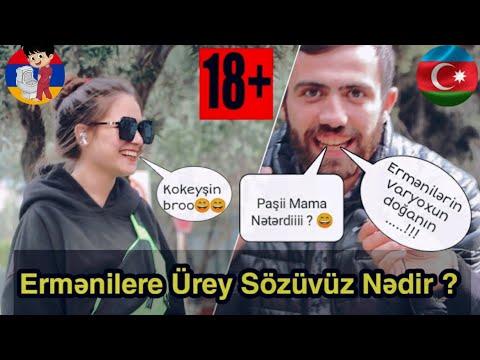 Ermənilərə Ürey Sözüvüz Nədir ? 18+ ( Sumqayıt Sorğu #13 )