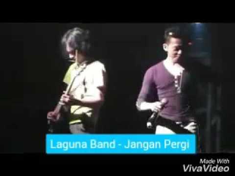 LAGUNA BAND - Jangan Pergi live