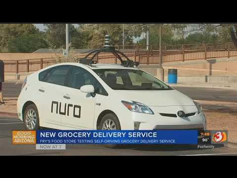 VIDEO: Scottsdale Fry's to have driverless grocery deliveries