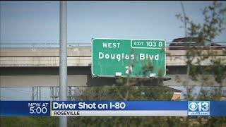 Bay Area Man Shot Overnight Driving Along I-80 In Roseville