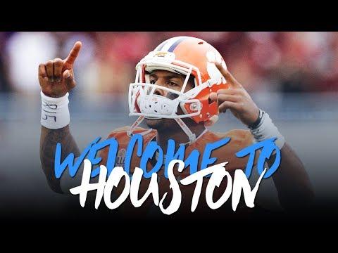 Deshaun Watson 2017; Welcome to Houston (Career Highlights) ᴴᴰ (видео)