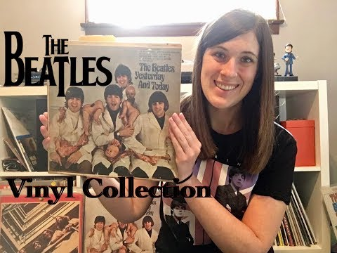 My Beatles Vinyl Record Collection!