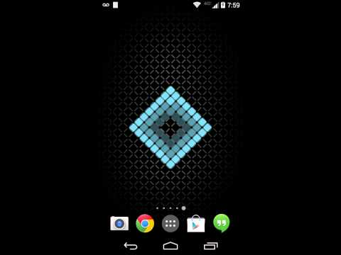 Video of Cell Grid Live Wallpaper