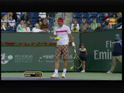 Rainer Schüttler vs. Rafa Nadal -Indian Wells