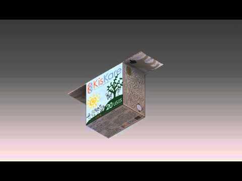 KisKare 3D Packaging