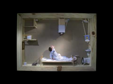 pixilation - A man in a coma is trapped inside his own painting. Between these four walls he tries to get back his concience by painting shreds of memories. stop-motion /...