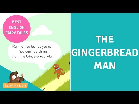 English Story for Kids - The Gingerbread Man - Stories for Kids - English Bedtime Stories for Kids