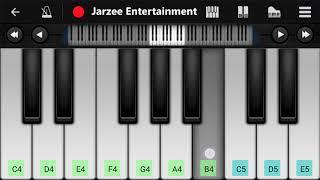 Tujhe Dekha To Yeh Jana Sanam Mobile Piano Tutorial | Jarzee Entertainment
