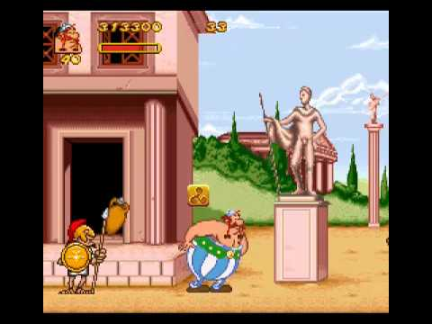 asterix obelix super nintendo password