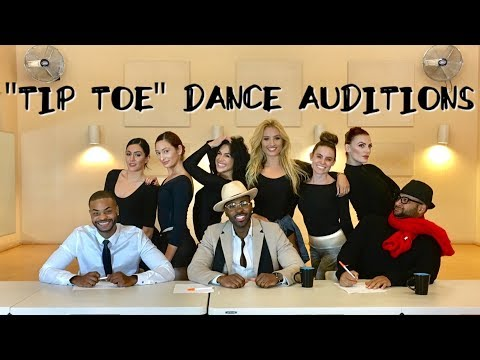 """""""TIP TOE"""" DANCE AUDITIONS"""