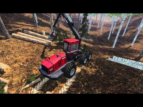 Komatsu 941 Wood Harvester v1.0 beta