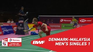 Video Thomas Cup | MS1 | Viktor AXELSEN (DEN) vs LEE Chong Wei (TPE) | BWF 2018 MP3, 3GP, MP4, WEBM, AVI, FLV September 2018