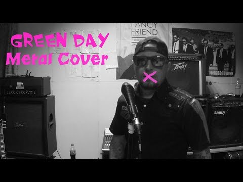 Green Day - kill the dj metal cover by zakhar klinovsky На Русском