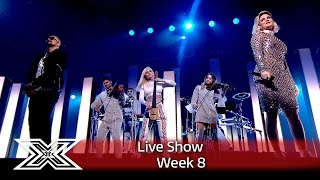 Clean Bandit perform Rockabye with Sean Paul & Anne-Marie | The X Factor UK 2016