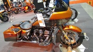 8. 2013 Harley-Davidson CVO Road Glide Custom - Walkaround - 2012 Toronto Motorcycle Show