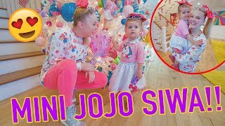 BABYSITTING MINI JOJO SIWA!!!