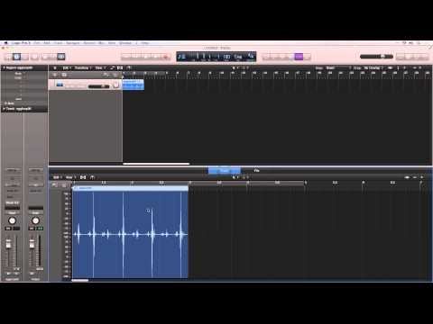 Audiotuts+ Complete Logic Pro Walkthrough Part 3: New Audio Editing View