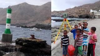 Levantamento hidrográfico em Cabo Verde: Portos de Sotavento