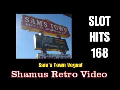 Slot Hits 168!  Sam's Town Casino and Gamblin Hall!  Las Vegas!