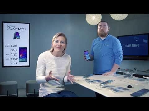 Samsung Galaxy Note 4 - jak korzystać funkcji dodatkowych aparatu