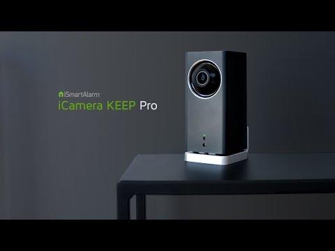 The iCamera KEEP Pro, from iSmartAlarm