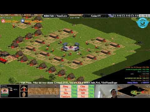 AOE | 4vs4 Random Liên Quân vs GameTV Ngày 14-11-2017.BLV: Có Bình Luận