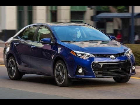2015 Toyota Corolla S Start Up and Review 1.8 L 4-Cylinder
