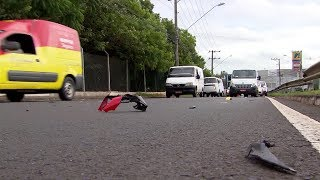 Aumentam os acidentes de trânsito com motociclistas em Sorocaba