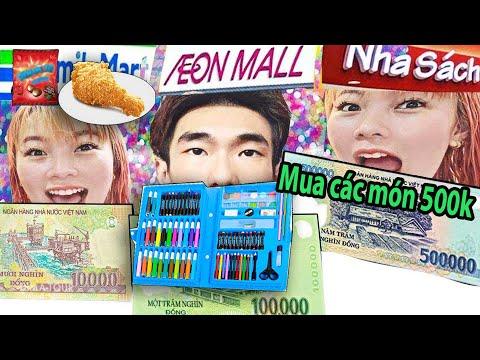 Laytv Mua Sắm Theo Giá 10k vs 100k vs 1 Triệu - Shopping 10k vs 100k