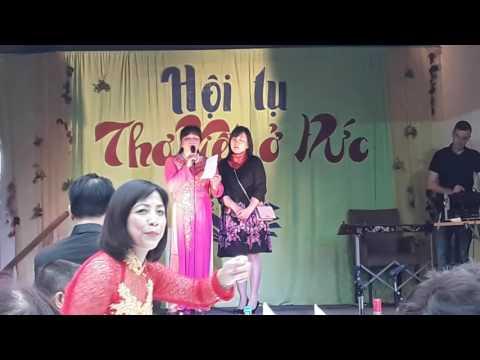 Hội tụ Thơ Việt ở Đức - Ngâm thơ của Thu Ha (Cottbus)
