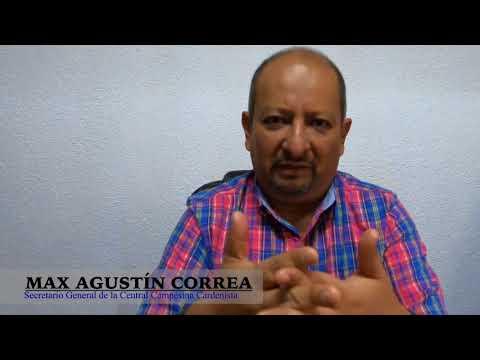 México sin pobreza – Max Agustín Correa Secretario General de la Central Campesina Cardenista