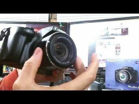 Prikaz delovanja fotoaparata CANON SX50 HS, 1. del