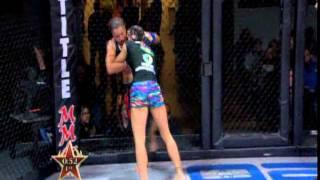 Raquel Pennington (3-1) vs. Cat Zingano (6-0)   Invicta FC 3