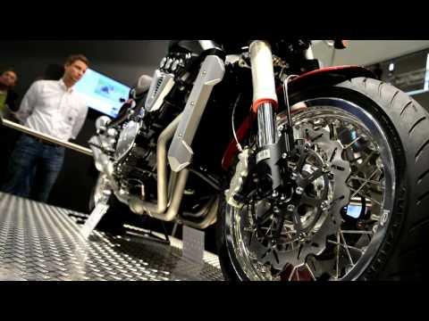 Vídeos de 'Horex VR6 Roadster: ¡¡¡Alemana y de seis cilindros!!!'