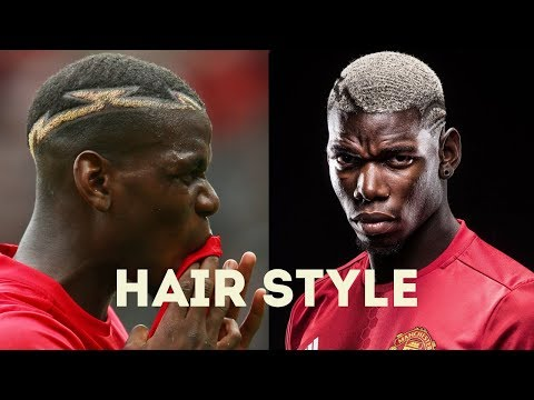 27 PAUL POGBA HAIRSTYLE AT MANCHESTER UNITED