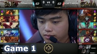 SUP vs GAM Game 1 2017 Lol eSports Mid-Season Invitational/Play-In lol. MSI 2017 GAM vs SUP G1 VOD. 2017 MSI full playlist: http://bit.ly/MSI-2017 League of Legends Season 7 Mid-Season Invitational Play-In in Brazil - Round Robin.First match of the day - SuperMassive vs Gigabyte Marines best of 5 Game 1. SUP vs GAM.Patch: 7.8 - Season 7 Game date: 06.05.2017  05/06/2017  May 6th 2017Game place: BrazilCasters: Rusty and PyraThere are more playlists in the playlist section on the channel!You can always follow all games from both channels and news/updates on my FB page - facebook.com/EpicskillshotPlease like/share/comment and sub if you haven't yet - it helps a lot!Follow me on Twitter: www.twitter.com/epicskillshot