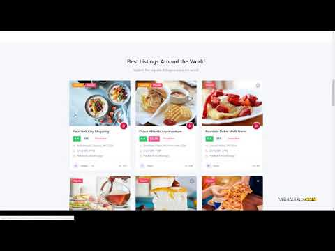 Direo - Directory and Listing WordPress Theme local listing listings Build Website