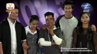 Khmer TV Show - Cambodian Idol Season 2| Live Show Semi Final