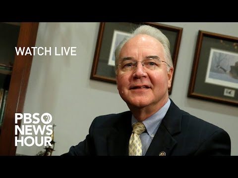 WATCH LIVE: Tom Price's confirmation hearing