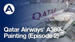 Video Qatar Airways A380: Painting (Episode 2) MP3, 3GP, MP4, WEBM, AVI, FLV Juli 2018