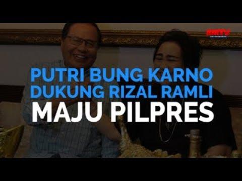 Putri Bung Karno Dukung Rizal Ramli Maju Pilpres