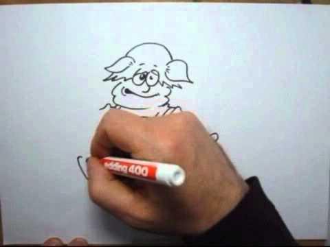 Comic und Cartoon zeichnen, drawing, painting.
