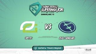 OpTic vs Evil Geniuses, Super Major, game 2 [Lum1Sit, Smile]