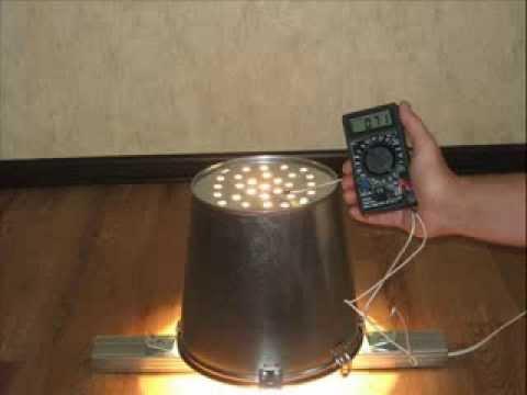 Как сделать обогреватель из лампы