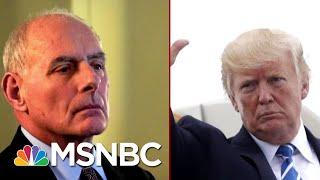 "Republican Senator Describes Defending Trump From Impeachment As A ""Horror Movie"" | Deadline | MSNBC"