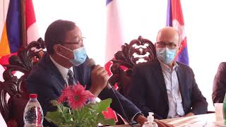Khmer News - Excerpt from Sam Rainsy's speech in French in the presence of French Senator André Gattolin (RE