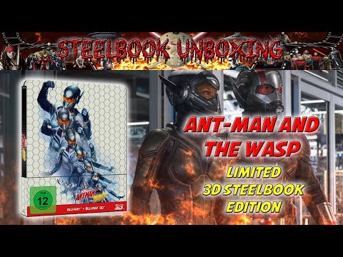 Unboxing - ANT-MAN And The WASP - 3D Steelbook