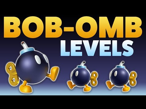 Super Mario Maker - BOB-OMBS! - Enemy Creation Challenge [#3]