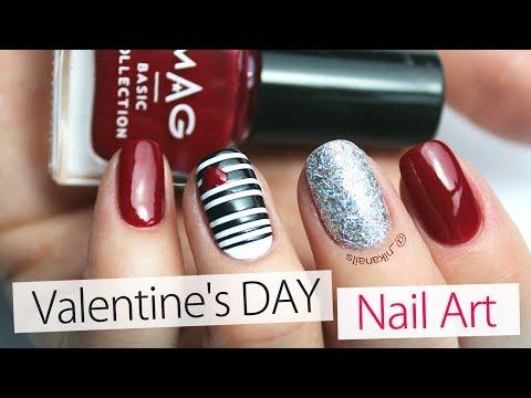 Nail designs - Valentine's Day Nail Art - 3 Cute Nail Ideas  Creative Nail Design Tutorial 2018