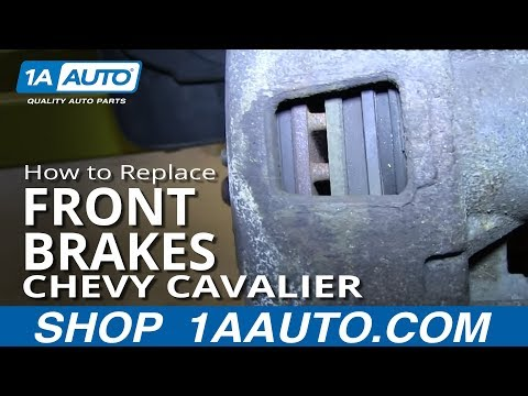 How To Install Replace Do a Front Brake Job 1992-05 Chevy Cavalier